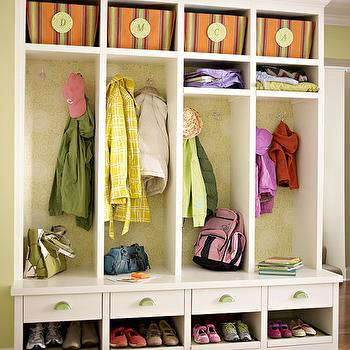 Well Organized Mudroom Design, Traditional, laundry room, BHG