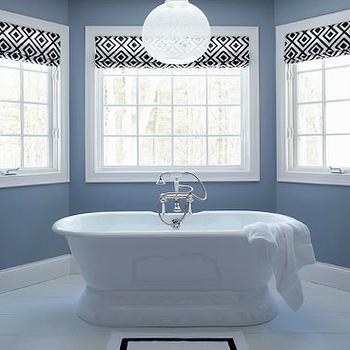 La Fiorentina Roman Shades. Bathroom Roman Shades Design Ideas