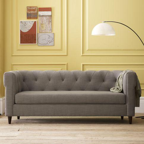 Chester Tufted Upholstered Sofa West Elm