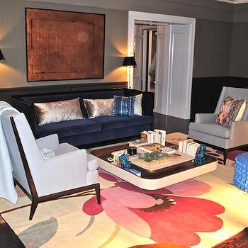 gray high back sofa design ideas