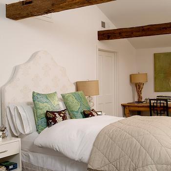 Serena & Lily Pondicherry Headboard, Cottage, bedroom, Rue Magazine