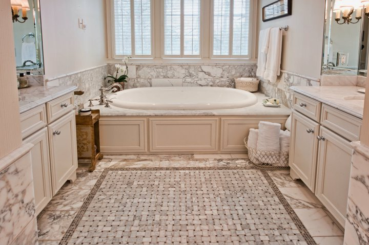 Paneled Drop In Tub