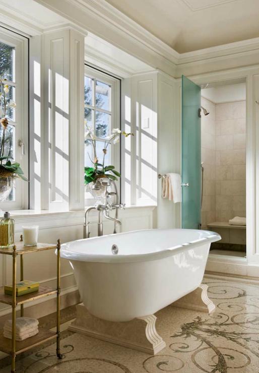 Raised Bathtub Contemporary Bathroom Amoroso Design