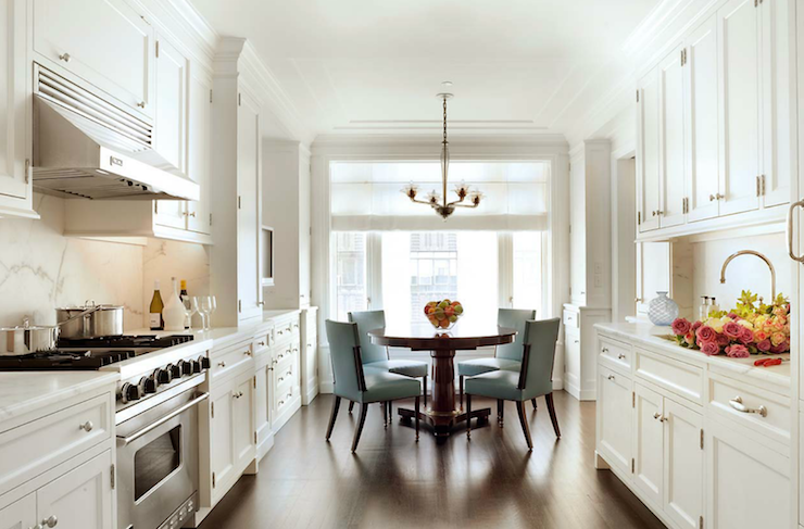 galley kitchen transitional kitchen john b murray architect