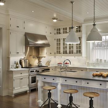 Beadboard Cabinets, Contemporary, kitchen, John B Murray Architect