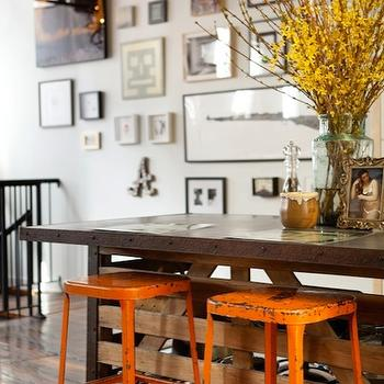 Industrial Bar Stools Design Ideas