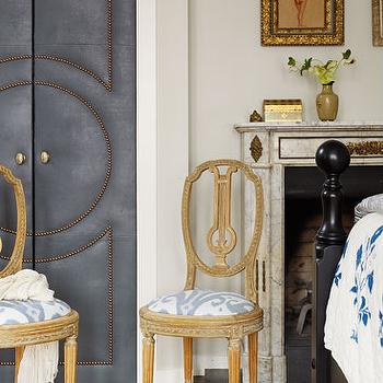 Ikat Chairs, Eclectic, bedroom, Redmond Aldrich Design