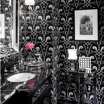 Mirrored Bathroom Vanity, Contemporary, bathroom, Martensen Jones Interiors