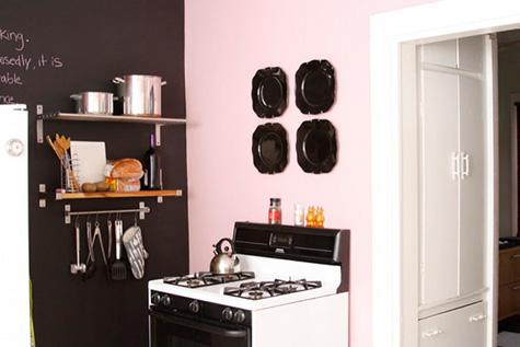 Pink Paint Colors Vintage kitchen Ralph Lauren Mademoiselle