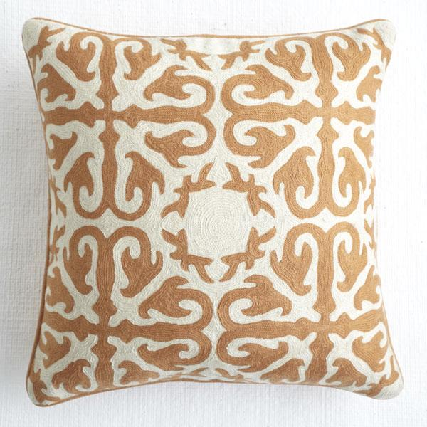 Throw Pillows Malum : Moroccan Pillow - Deep Saffron - Pillows & Cushions - Wisteria