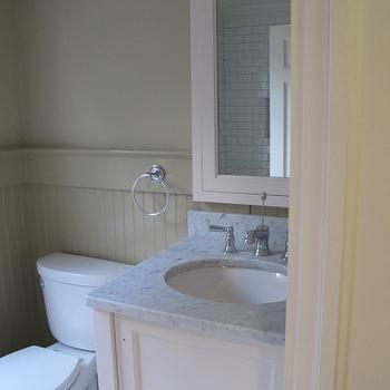 Bennington Gray, Transitional, bathroom, Benjamin Moore Bennington Gray, Sherry Hart Designs