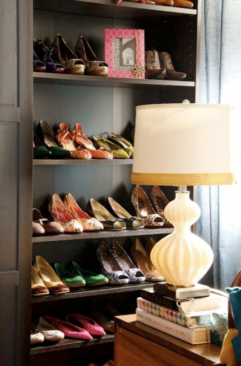 Shelves For Shoes Contemporary Closet Saudah Saleem