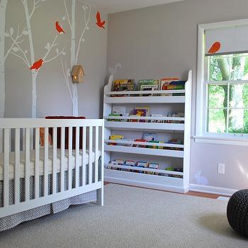 Grant Beige Contemporary Nursery Benjamin Moore