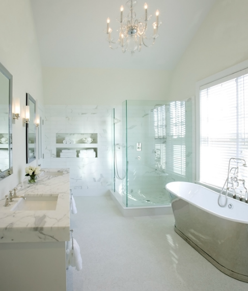 waterworks candide bathtub - traditional - bathroom - kathleen hay