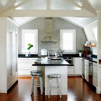 Beadboard Cabinets, Contemporary, kitchen, Kathleen Hay Design