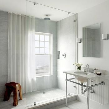 Glass Shower Partition