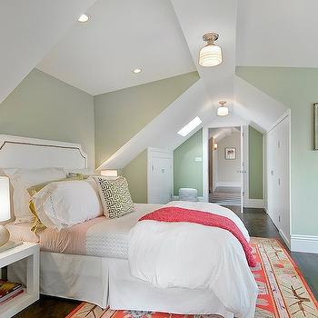 Green Paint Colors, Transitional, girl's room, Benjamin Moore Spring Valley, Cardea Building Co.