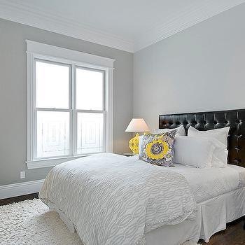 Yellow and Black Bedroom, Contemporary, bedroom, Cardea Building Co.