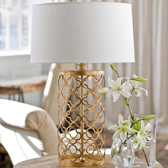 Regina Andrew Lighting Mosaic Drum Table Lamp