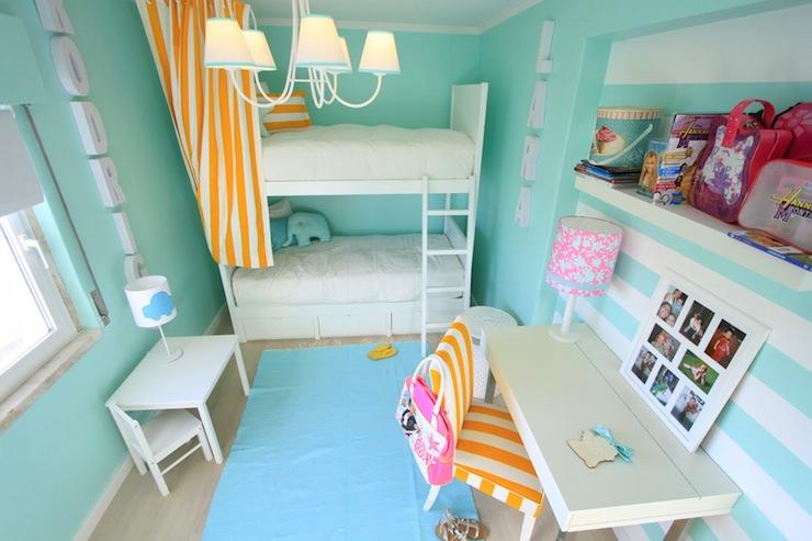 Merveilleux Aqua Girls Room