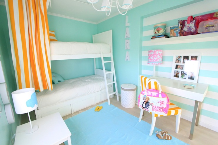 Turquoise Girls Room Contemporary Girl S Room Ana