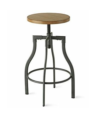 Industrial Barstool Look 4 Less
