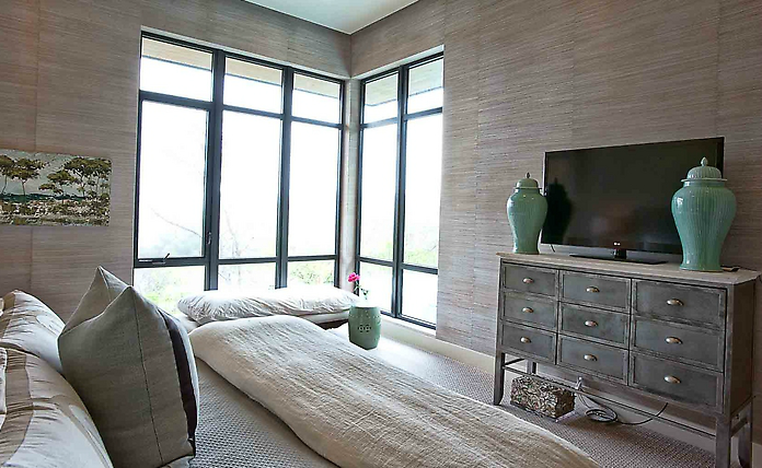 Green And Gray Bedrooms Design Ideas