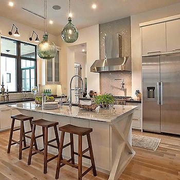 White Granite, Transitional, kitchen, Cornerstone Group Architects