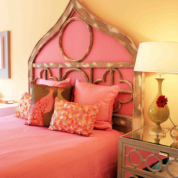 Pink Girl's Room, Eclectic, girl's room, Lucy and Company