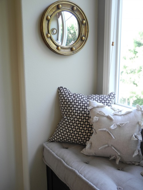 Tufted Window Seat Cushions