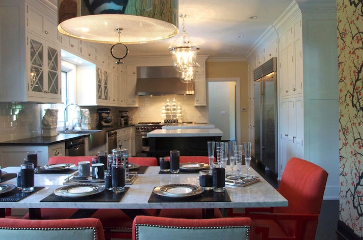 Robert abbey porter pendant contemporary kitchen megan winters robert abbey porter pendant aloadofball Choice Image