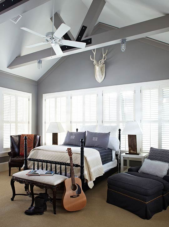 Pale Gray Ceiling Design Ideas