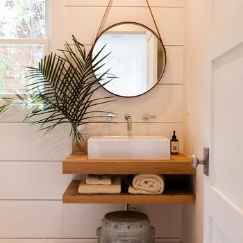 Floating Sink, Cottage, bathroom, Pacific Family Homes