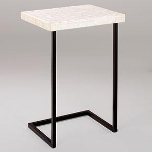 Capiz Shell Laptop Table