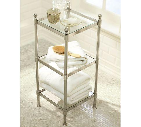 Metal Etagere   Pottery Barn