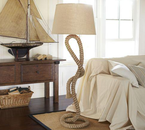 Rope floor lamp pottery barn rope floor lamp pottery barn link on pinterest view full size aloadofball Image collections