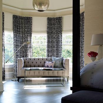 Bedroom Sofa, Transitional, bedroom, Bella Mancini Design