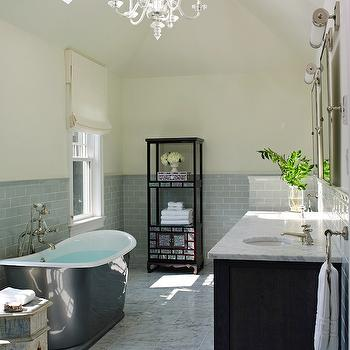 Skylight Bathroom, Traditional, bathroom, Bella Mancini Design