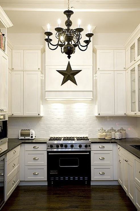Black And White Kitchen Eclectic ABCD Design