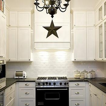 Black and White Kitchen, Eclectic, kitchen, ABCD Design