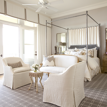 Bedroom Couch, Transitional, bedroom, Dodson and Daughter Interior Design