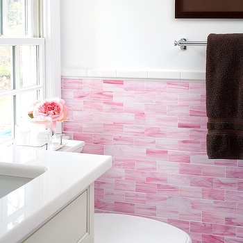 pink kitchen tiles pink backsplash design ideas 1503