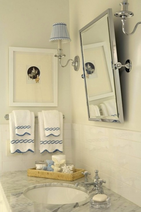 Gingham Sconce Shades