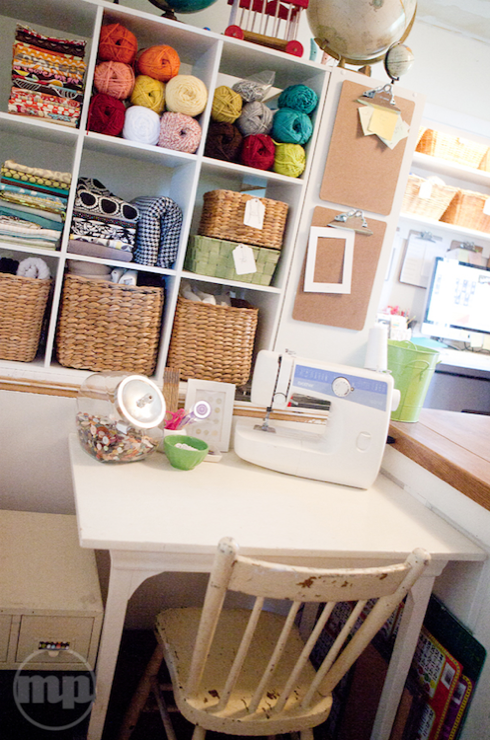 Designing A Sewing Room: Den/library/office