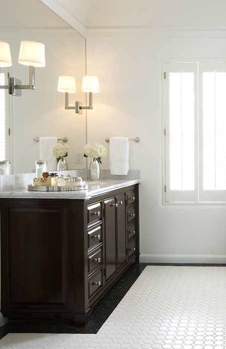 espresso cabinets contemporary bathroom elizabeth