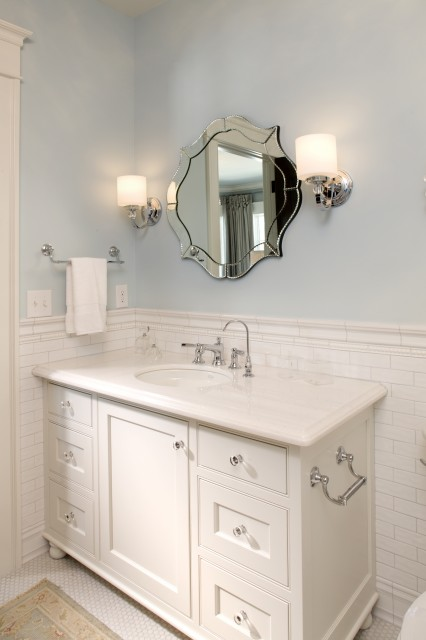 Toilet Paper Holder On Vanity Traditional Bathroom Stonewood Llc