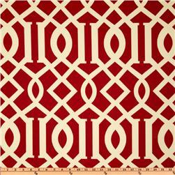 Richloom Solarium Outdoor Kirkwood Cherry, Discount Designer Fabric, Fabric.com