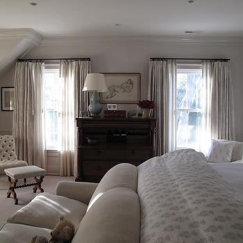 Bedroom Couch, Traditional, bedroom, Jane Green