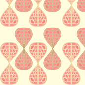 coral_bells_pink fabric by holli_zollinger for sale on Spoonflower, custom fabric