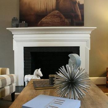Fireplace Trim View Full Size Sweet Living Room With Warm Gray